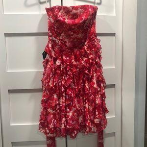 White House Black Market Party Dress. Candy Apple